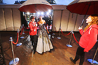 UTRECHT, 24 september 2014<br /> Nederlands Film Festival<br /> Openingsavond<br /> Rode loper met actrice Yootha Wong Loi Sing<br /> Foto Ramon Mangold