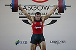 Glasgow 2014 Commonwealth Games<br /> <br /> Darius Jokarzadeh (Wales) competing in the mens super heavyweight weightlifting<br /> <br /> 31.07.14<br /> &copy;Steve Pope-SPORTINGWALES