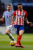2nd December 2017, Wanda Metropolitano, Madrid, Spain; La Liga football, Atletico Madrid versus Real Sociedad; Saul Niguez Esclapez (8) of Atletico Madrid