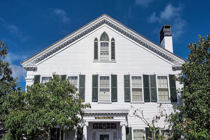 Historic home, Edgartown, Martha's Vineyard, Massachusetts, USA