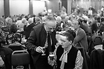 """Working Mens Club, Saturday night entertainment.  Coventry Warwickshire 1981.<br /> """"Cheers, duck"""". A Midlands, English  common expression amongst working class people in the mid 20th century when you bought a drink  for a female friend."""