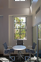 Photo of the McKinnon Center for Global Affairs in Johnson Hall, Sept. 2013. (Photo by Marc Campos, Occidental College Photographer)