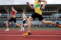 17 MAY 2009 - LOUGHBOROUGH,GBR - Mens 400m A Invitation race - Loughborough International Athletics (PHOTO (C) NIGEL FARROW)