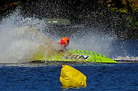 Frame 7: 24-J and 48-N  race into the turn, 48-N then catches the wake a spins out at speed. (runabout)