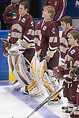 Adam Reasoner, Joe Pearce, Andrew Orpik, Brian O'Hanley - The University of Wisconsin Badgers defeated the Boston College Eagles 2-1 on Saturday, April 8, 2006, at the Bradley Center in Milwaukee, Wisconsin in the 2006 Frozen Four Final to take the national Title.