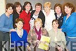 Top parents : Taking part in The Power of Encouragement Parenting Course at .St Joseph's National School in Ballybunion on Thursday night were course tutor Joan Barrett, (seated centre) and front l-r Joan O'Connor, Nora O'Carroll-Downey .and Martina Farrell. Back l-r Mary Holly, Ann-Marie Breen, Claire Leane, .Gerladine O'Connor, Norma Kissane and Mary Cooke..   Copyright Kerry's Eye 2008