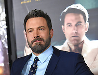 Ben Affleck @ the premiere of 'Live By Night' held @ the Chinese theatre. January 9, 2017
