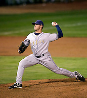 Craig Benningson of the Tri-City Dust Devils in the Northwest League championship game against the Salem-Keizer Volcanoes at Volcanoes Stadium - 9/10/2009..Photo by:  Bill Mitchell/Four Seam Images..