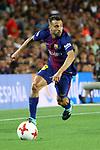 Supercopa de Espa&ntilde;a - Ida.<br /> FC Barcelona vs R. Madrid: 1-3.<br /> Jordi Alba.