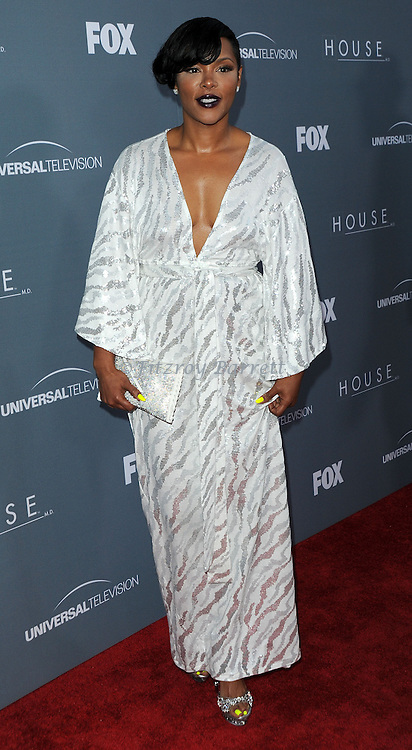 Keisha Spivery attending the House Series  Finale Wrap Party, held at Cicada's in Los Angeles, CA. April 20, 2012