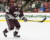 Jake Kulevich (Colgate - 11) - The Harvard University Crimson defeated the visiting Colgate University Raiders 7-4 (EN) on Saturday, February 20, 2016, at Bright-Landry Hockey Center in Boston, Massachusetts,