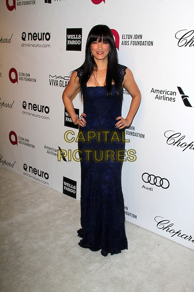 WEST HOLLYWOOD, CA - March 02: Kelly Hu at the 22nd Annual Elton John AIDS Foundation Oscar Viewing Party, Private Location, West Hollywood,  March 02, 2014.  <br /> CAP/MPI/JO<br /> &copy;Janice Ogata/MediaPunch/Capital Pictures