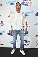 Marvin Humes<br /> at the Capital Summertime Ball 2017, Wembley Stadium, London.