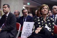 Roma, 8 Gennaio 2015<br /> Renata Polverini tra gli ospiti.<br /> Primo congresso nazionale di Scelta Civica per l'Italia.