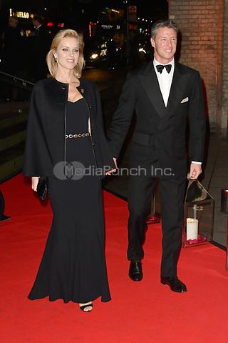 Czech model Eva Herzigova and Italian businessman Gregorio Marsiaj attend DKMS Big Love Gala at the Round House in London.<br /> <br /> NOVEMBER 7th 2018. Credit: Matrix/MediaPunch ***FOR USA ONLY***<br /> <br /> REF: SLI 184095