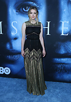 "LOS ANGELES, CA July 12- Hannah Murray,  At Premiere Of HBO's ""Game Of Thrones"" Season 7 at The Walt Disney Concert Hall, California on July 12, 2017. Credit: Faye Sadou/MediaPunch"