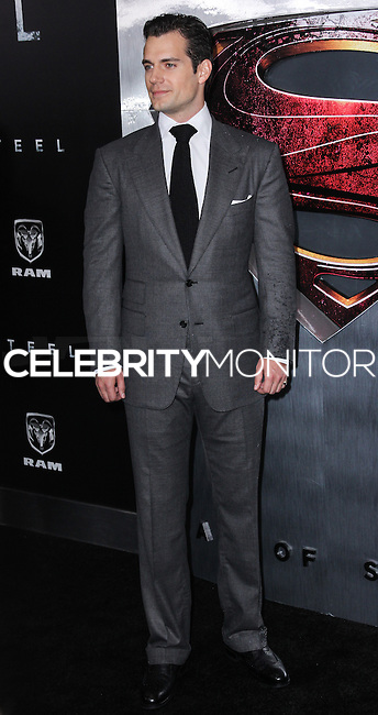 """NEW YORK, NY - JUNE 10: Henry Cavill attends the """"Man Of Steel"""" World Premiere at Alice Tully Hall at Lincoln Center on June 10, 2013 in New York City. (Photo by Celebrity Monitor)"""