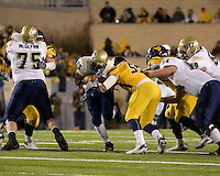 01 December 2007: LeSean McCoy (ball carrier)..The Pitt Panthers upset the West Virginia Mountaineers 13-9 on December 01, 2007 in the 100th edition of the Backyard Brawl at Mountaineer Field, Morgantown, West Virginia.