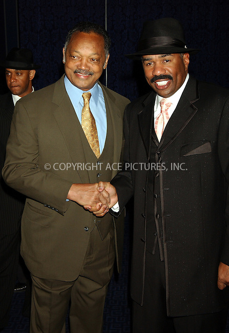 WWW.ACEPIXS.COM . . . . . ....NEW YORK, APRIL 6, 2006....Jesse Jackson and Steve Harvey at the 8th Annual Keepers of the Dream Awards.......Please byline: KRISTIN CALLAHAN - ACEPIXS.COM.. . . . . . ..Ace Pictures, Inc:  ..(212) 243-8787 or (646) 679 0430..e-mail: info@acepixs.com..web: http://www.acepixs.com
