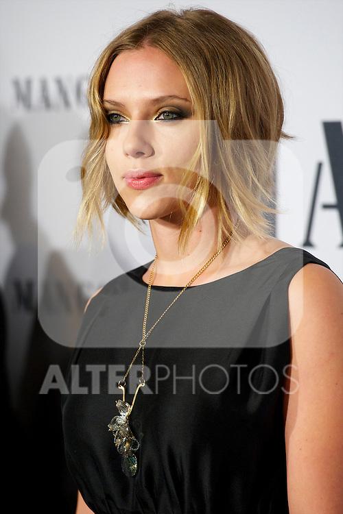 Scarlett Johansson attended  'Mango Fashion Awards' 3rd Edition at Cataluña National Museum of Art in Barcelona.Photo: Billy Chappel / ALFAQUI