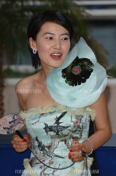 Shanghai Dreams actress YUANYUAN GAO at the Awards Ceremony & screening of Chromophobia at the 58th Annual Film Festival de Cannes..May 21, 2005 Cannes, France..© 2005 Paul Smith / Featureflash