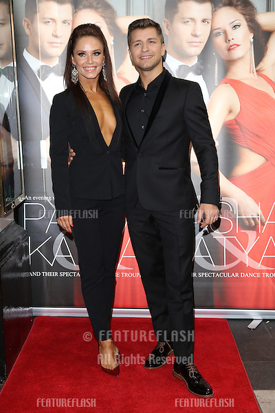 Katya Virshilas, Pasha Kovalev at the Katya and Pasha West End show - Gala night held at the Lyric Theatre, London. 07/04/2014 Picture by: Henry Harris / Featureflash