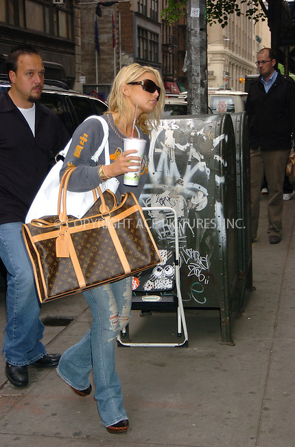 WWW.ACEPIXS.COM . . .  ....May 11 2006, New York City....Actress and singer Jessica Simpson arrives at a recording studio in Chelsea, Manhattan.....Please byline:AJ SOKALNER - ACEPIXS.COM.. *** ***  ..Ace Pictures, Inc:  ..(212) 243-8787..e-mail: info@acepixs.com..web: http://www.acepixs.com