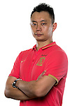 Team Formers of Guangzhou Evergrande poses for the official photo prior to the Guangzhou Evergrande vs Gamba Osaka match as part the AFC Champions League 2015 Semi Final 1st Leg match on September 29, 2015 at  Tianhe Sport Center in Guangzhou, China. Photo by Aitor Alcalde / Power Sport Images