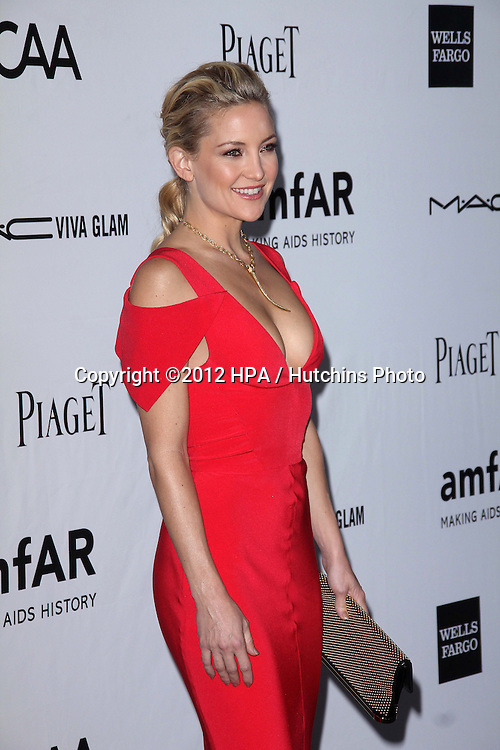 LOS ANGELES - OCT 11:  Kate Hudson arrives at the amfAR Inspiration Gala Los Angeles at Milk Studios on October 11, 2012 in Los Angeles, CA