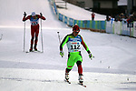 Michail Semenov (BLR) competes during the cross country 10 km free style men as part of the Winter Universiade Trentino 2013 on 17/12/2013 in Lago Di Tesero, Italy.<br /> <br /> &copy; Pierre Teyssot - www.pierreteyssot.com