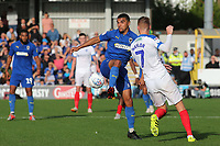 Kwesi Appiah of AFC Wimbledon in action during AFC Wimbledon vs Portsmouth, Sky Bet EFL League 1 Football at the Cherry Red Records Stadium on 13th October 2018