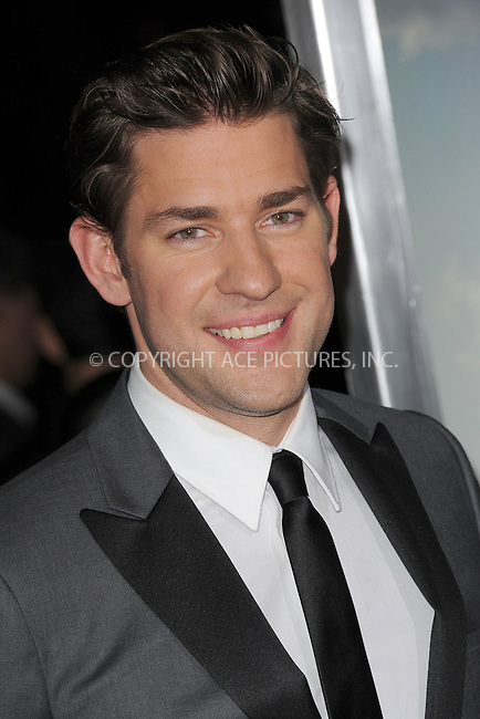 WWW.ACEPIXS.COM . . . . . .December 4, 2012...New York City....John Krasinski attends the 'Promised Land' premiere at AMC Loews Lincoln Square 13 on December 4, 2012 in New York City ....Please byline: KRISTIN CALLAHAN - ACEPIXS.COM.. . . . . . ..Ace Pictures, Inc: ..tel: (212) 243 8787 or (646) 769 0430..e-mail: info@acepixs.com..web: http://www.acepixs.com .
