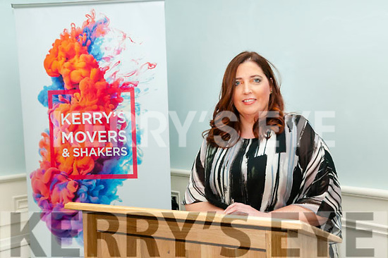 Attending the Kerry Women's Business Network meeting held at the  Butler Centre, Listowel  on Wednesday 23rd Niovember was Copra Creed from The Swazi Legacy, UP Business Transformation & Universal Music , New York.