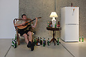 London, UK. 20.07.2016. Ragnar Kjartansson's solo exhibition at the Barbican Gallery.  Bringing together live performance, music, film, painting, sculpture and drawing, this solo exhibition is the first in the UK to survey the work of the Icelandic artist, Ragnar Kjartansson. Picture shows: Take Me Here by the Dishwasher: Memorial for a Marriage, 2011-2014<br />