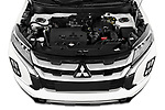 Car stock 2020 Mitsubishi ASX Diamond Edition 5 Door SUV engine high angle detail view