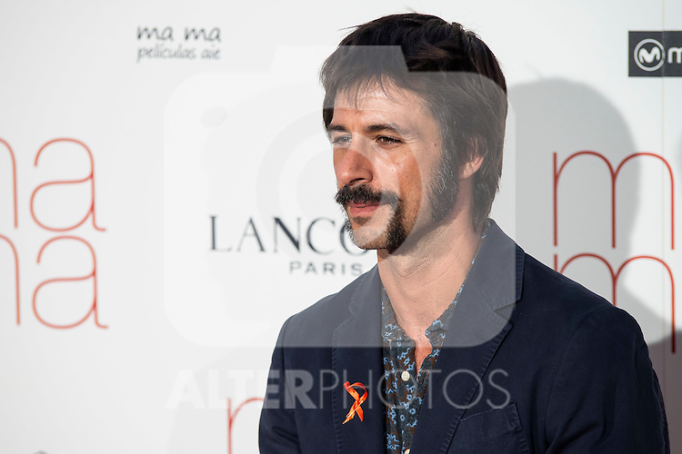 Hugo Silva attends to the premiere of &quot;Ma Ma&quot; at Capitol Cinemas in Madrid, Spain. September 09, 2015. <br /> (ALTERPHOTOS/BorjaB.Hojas)