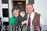 Pauline & Junior Keating getting into the Chaplin Mood in Waterville at the weekend.