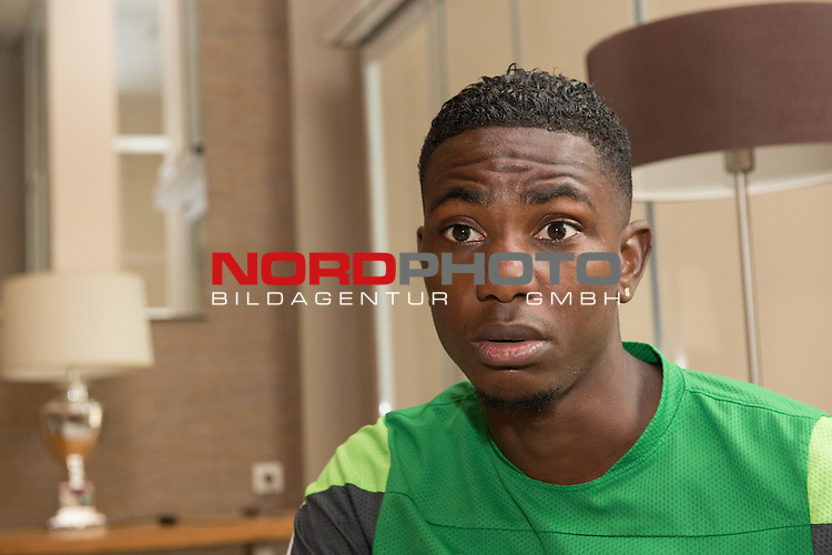 Trainingsgel&auml;nde, Jerez, ESP, 1.FBL, Trainingslager Werder Bremen 2014,  10.01.2014, <br /> Eljero Elia (Bremen #11) <br /> <br /> Portrait <br /> <br /> Foto &copy; nordphoto/ Kokenge