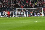 08.11.2018, BayArena, Leverkusen, Europaleque, Vorrunde, GER, UEFA EL, Bayer 04 Leverkusen (GER) vs. FC Zuerich (SUI),<br />  <br /> DFL regulations prohibit any use of photographs as image sequences and/or quasi-video<br /> <br /> im Bild / picture shows: <br /> die Leverkusener verabschieden sich von den Zuschauern<br /> <br /> Foto &copy; nordphoto / Meuter<br /> <br /> <br /> <br /> Foto &copy; nordphoto / Meuter