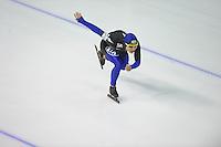 SCHAATSEN: Calgary: Essent ISU World Sprint Speedskating Championships, 28-01-2012, 1000m Heren, Kyou-Hyuk Lee (KOR), ©foto Martin de Jong