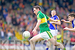 Declan O'Sullivan, Kerry in action against Robbie Kelly, Tipperary in the first round of the Munster Football Championship at Fitzgerald Stadium on Sunday.