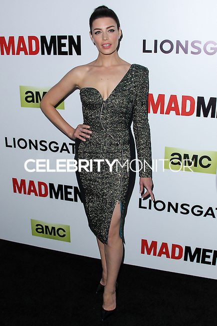 """HOLLYWOOD, LOS ANGELES, CA, USA - APRIL 02: Jessica Pare at the Los Angeles Premiere Of AMC's """"Mad Men"""" Season 7 held at ArcLight Cinemas on April 2, 2014 in Hollywood, Los Angeles, California, United States. (Photo by Xavier Collin/Celebrity Monitor)"""