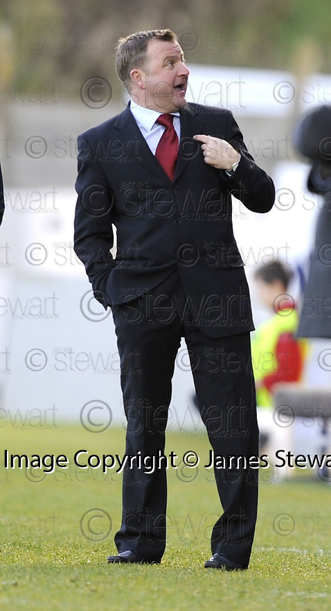 20/12/2008  Copyright Pic: James Stewart.File Name : sct_jspa28_hamilton_v_motherwell.HAMILTON BOSS BILLY REID DURING THE GAME AGAINST MOTHERWELL.James Stewart Photo Agency 19 Carronlea Drive, Falkirk. FK2 8DN      Vat Reg No. 607 6932 25.Studio      : +44 (0)1324 611191 .Mobile      : +44 (0)7721 416997.E-mail  :  jim@jspa.co.uk.If you require further information then contact Jim Stewart on any of the numbers above.........