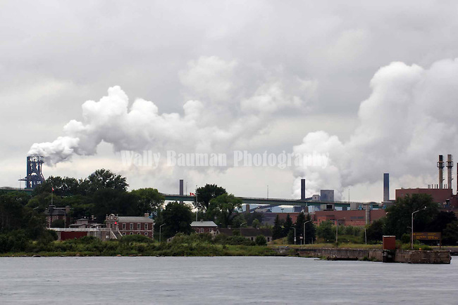 SAULT STE. MARIE, ONTARIO, CANADA , ABITIBI PULP AND PAPER MILL