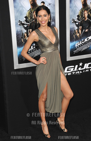 "Rebecca Da Costa at the Los Angeles premiere of ""G.I. Joe: Retaliation"" at the Chinese Theatre, Hollywood..March 28, 2013  Los Angeles, CA.Picture: Paul Smith / Featureflash"