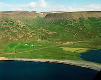 Höfði séð til austurs, Hofshreppur / Hofdi viewing east, Hofshreppur