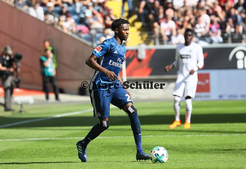 Gideon Jung (Hamburger SV) - 05.05.2018: Eintracht Frankfurt vs. Hamburger SV, Commerzbank Arena, 33. Spieltag Bundesliga