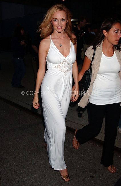WWW.ACEPIXS.COM . . . . .  ....September 17 2007, New York City....Actress Heather Graham arriving at the New York premiere of 'Adrift in Manhattan' at the Chelsea West Cinema......Please byline: KRISTIN CALLAHAN - ACEPIXS.COM.... *** ***..Ace Pictures, Inc:  ..(212) 243-8787 or (646) 769 0430..e-mail: picturedesk@acepixs.com..web: http://www.acepixs.com