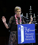 Denise Gough during the 74th Annual Theatre World Awards at Circle in the Square on June 4, 2018 in New York City.