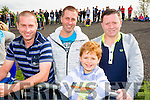 Raymond, Paudie, Roan and Austin Fitzmaurice, St Brendans fans pictured at the County Senior Hurling final in Abbeydorney on Sunday.